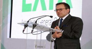 El secretario de Economía, Idelfonso Guajardo, pide a empresas no participar en construcción de muro fronterizo y ser leales a México.