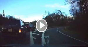 Video muestra cómo un auto automatizado de Tesla logra predecir un accidente