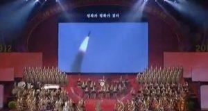 Corea del Norte emite el vídeo de un ataque simulado con un misil a EU