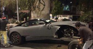 Edil Pilcaya no es dueño del Aston Martin accidentado en la CDMX