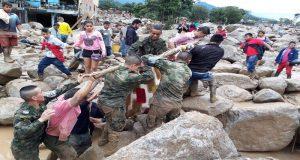 Ya son más de 300 los muertos por avalancha en Mocoa