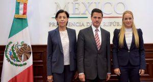 Peña se compromete a rescatar la democracia para los venezolanos: Tintori