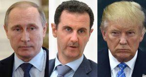 Rusia contradice a Trump y niega que Assad sea responsable de ataques químicos en Siria Gobierno de Rusia intensifica la tensión con Estados Unidos al defender al presidente Bashar al-Assad después de que fuera señalado como responsable del ataque químico en Siria. Después de que países de Occidente, entre ellos Estados Unidos, responsabilizaran al gobierno de Bashar al-Assad del ataque químico registrado en Siria, el gobierno ruso dio su respaldo al presidente sirio y lo desvinculó de los hechos. Rusia negó el miércoles 5 de abril que Assad fuera responsable de un ataque con arma química en la ciudad de Khan Sheikhoun, un área controlada por los rebeldes y que se ha visto sacudida por ataques aéreos del Gobierno, abriendo la brecha entre Moscú y el gobierno de Donald Trump quien ha tratado de mejorar notoriamente la relación entre Estados Unidos con el Kremlin.