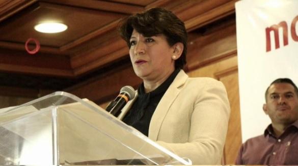 Resultado de imagen para Delfina Gómez Álvarez, candidata del Morena a la gubernatura del Edomex.