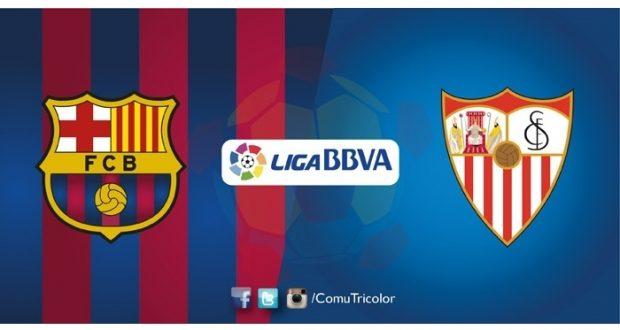 Barcelona se enfrentará a Sevilla en la jornada 30 de La Liga Santander. Los catalanes buscan alcanzar al Real Madrid, mientras que Sevilla quiere asegurar Champions League para la siguiente temporada.