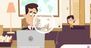 Crean una serie animada basada en los bebes que interrumpieron una entrevista en la BBC
