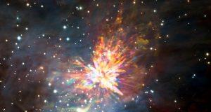 Astrónomos logran captar el nacimiento de una estrella en la constelación de Orión/
