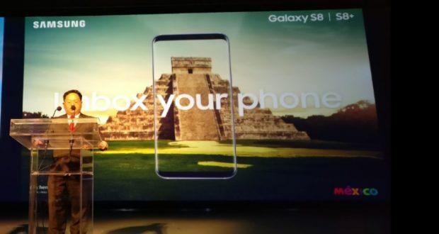 Presentan en México el Samsung Galaxy S8
