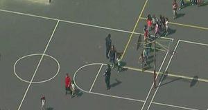 Reportan un tiroteo en una escuela primaria de San Bernardino, California