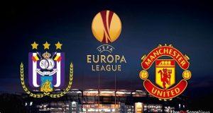 Anderlecht se enfrentará a Manchester United en el partido de ida de los cuartos de final de la UEFA Europa League.