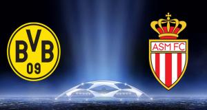 El AS Mónaco de Francia y el Borussia Dortmund de Alemania se enfrentarán en el partido de ida de los cuartos de final de la UEFA Champions League.