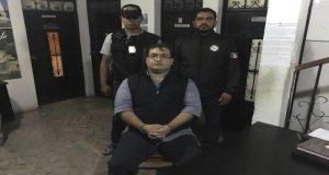 DEPARTAMENTO DE SOLOLÁ, GUATEMALA, 15ABRIL2017.- Javier Duarte, ex gobernador de Guatemala, fue aprehendido por la policía de Guatemala, así lo informó la Procuraduría General de la República. El priista es buscado por la su probable responsabilidad en la comisión de los delitos de delincuencia organizada y operación con recursos de procedencia ilícita.