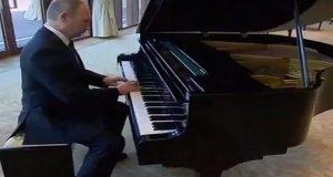 """Así fue el inesperado """"concierto"""" de piano de Putin en Beijing (Video)"""