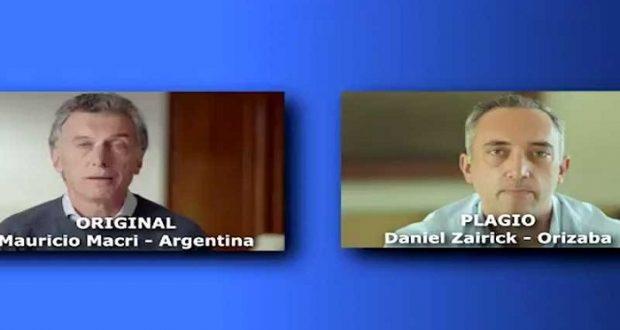 Candidato panista plagia discurso de Mauricio Macri