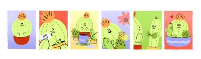 Goolge celebra el Día de las Madres con doodle
