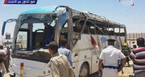 Atentado contra un autobús en Egipto provoca 26 cristianos fallecidos