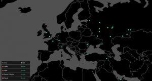 Reportan un ataque informático contra varias empresas en Europa