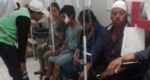 Explosión de pirotecnia deja 18 heridos en Chiapas
