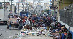"""Detienen a 38 personas en una redada en """"Cracolandia"""", en Sao Paulo"""