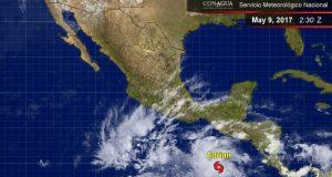 Alerta en el Pacífico por la tormenta tropical Adrian