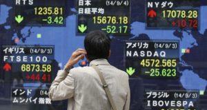 Comportamiento de los mercados en Asia Pacífico. Acciones y bolsas de valores