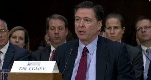 Despedida de James Comey tras su salida del FBI