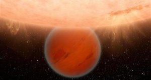 La NASA reporta el descubrimiento de una atmósfera primitiva en un exoplaneta