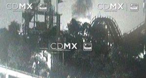 Controlan incendio en la Feria de Chapultepec
