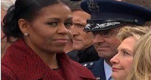 Michelle Obama explica sus gestos durante la investidura de Donald Trump