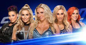 Charlotte Flair, Becky Lynch, Natalya, Carmella y Tamina se enfrentarán en combate para determinar quién retará a la campeona Naomi en WWE Money in the Bank.