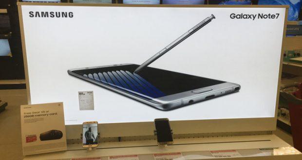 Samsung comenzará a vender versiones reacondicionadas de su modelo Galaxy Note 7 en Corea del Sur, pero llegará al mercado con otro nombre