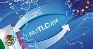 México y Unión Europea modernizan TLCUEM y fortalecen libre comercio y a través del cual, el 99 por ciento de los productos podrán ser intercambiados libres de impuestos.