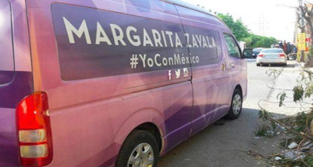 Asaltan a equipo de Margarita Zavala en Sinaloa
