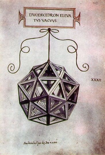 Leonardo da Vinci, Dodecaedro