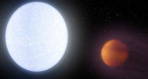 Astrónomos encuentra un exoplaneta con una temperatura similar a la de las estrella