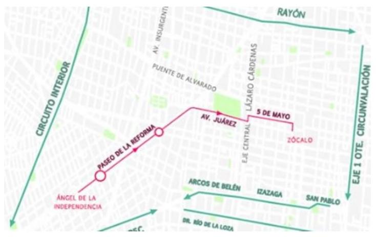 Ruta de la marcha del orgullo gay. Marcha del orgullo gay EN VIVO: horario y mapa de ruta