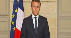 """""""Hagamos nuestro planeta grande otra vez"""": la respuesta de Macron a Trump"""