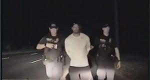 Difunden el video del arresto del golfista Tiger Woods