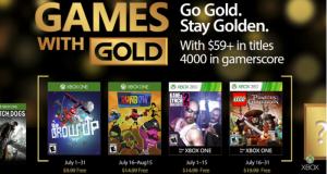 Microsoft anunció los videojuegos que se podrán descargar de forma gratuita a través del programa Games With Gold durante el mes de julio 2017 exclusivamente para miembros Xbox Live Gold.