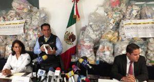 Decomisan más de 205 mil medicamentos en Jalisco