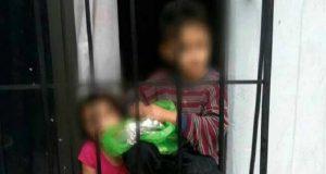 PGJ rescata a 3 niños abandonados en edificio en Azcapotzalco