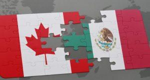 México y Canadá se reunirán para acordar estrategia de negociación del TLCAN Funcionarios de México y Canadá se reunirán para acordar la estrategia que tendrán en la negociación del TLCAN a iniciarse en agosto próximo. Los gobiernos de México y Canadá se preparan para enfrentar el proceso de negociación del Tratado de Libre Comercio de América del Norte (TLCAN) con Estados Unidos, por lo que funcionarios de ambos países se dieron cita en Ottawa para discutir temas de interés mutuo y plantear, en la medida de lo posible, una estrategia.