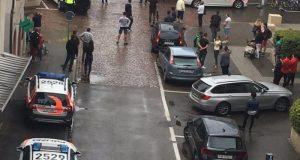 Suiza realizan un operativo en busca de hombre armado con una motosierra que atacó en Schaffhausen VIDEO