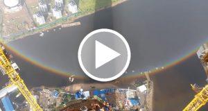 Una grabación demuestra que los arcoíris en realidad son círculos