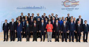Cumbre del G20 Alemania 2017 resumen: Las diferencias con EUA El comunicado final de la cumbre del G20 fue revelado el sábado 8 de julio en Hamburgo, con claras diferencias entre la postura de Estados Unidos con el resto del mundo sobre el combate al cambio climático.
