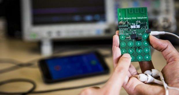 Image result for crean celular que no utiliza bateria