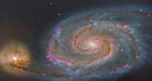 Localizan una galaxia mil veces más luminosa que la Vía Láctea