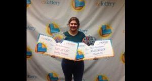 joven hispana gana la lotería dos veces en una semana en California