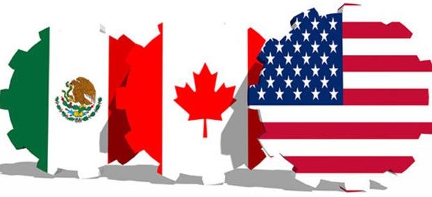 TLCAN, México, Canadá y Estados Unidos
