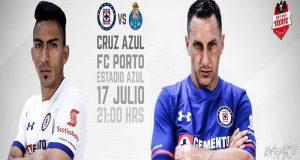 La Máquina Celeste del Cruz Azul se enfrentará al Porto en la Copa Tecate 2017, partido que le servirá a ambos equipos como preparación para el siguiente torneo.